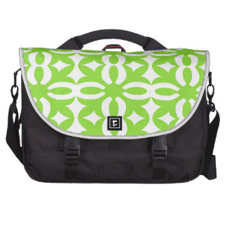 Lacy Lime Victorian Print Commuter Bags