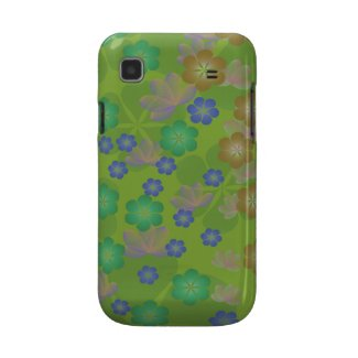Lacy Lotus Green Samsung Galaxy S Case casematecase