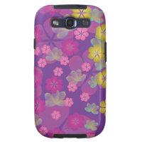 Lacy Lotus Purple Samsung Galaxy S3 Case