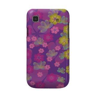 Lacy Lotus Purple Samsung Galaxy S Case casematecase