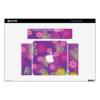 Lacy Lotus Purple Skin For The Mac Mini