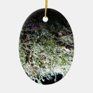 Lacy Moss Ceramic Ornament