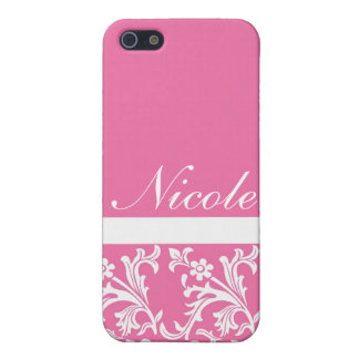Lacy Pink Custom iPhone case