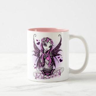 Lacy Pink Fairy Valentine's Day Mug