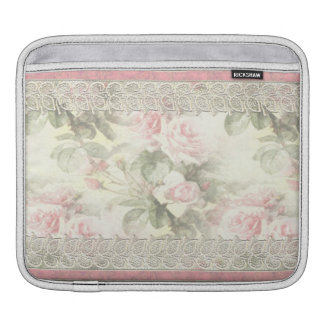 Lacy Ribbon Misty Rose Laptop Sleeve Sleeve For iPads