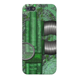 Lacy Steampunk Greens Speck Case iPhone4