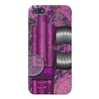 Lacy Steampunk Purple Speck Case iPhone4