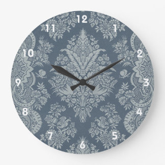 Lacy Vintage - Antique Teal Green Large Clock