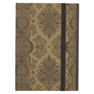 Lacy Vintage Floral in Brown Case For iPad Air