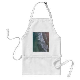 Lacy Waves Whitesands Bay Wales Adult Apron