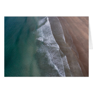 Lacy Waves Whitesands Bay Wales Card