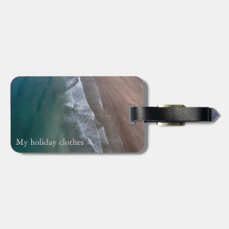 Lacy Waves Whitesands Bay Wales Luggage Tag