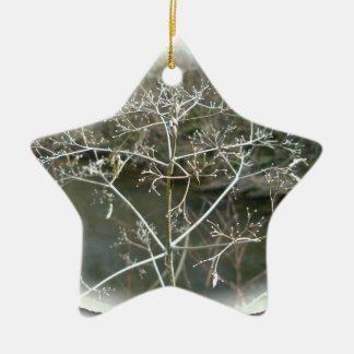 Lacy Weed Christmas Ornament
