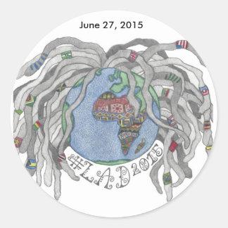 LAD 2015 Circle Sticker