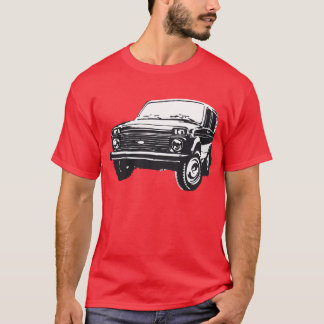 Lada Niva illustration T-Shirt