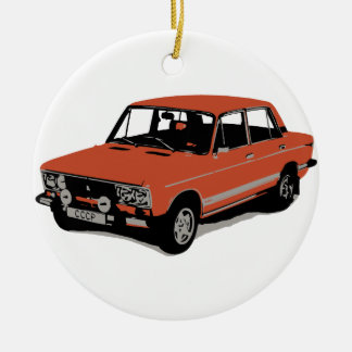 Lada - The Soviet Russian Car Ceramic Ornament