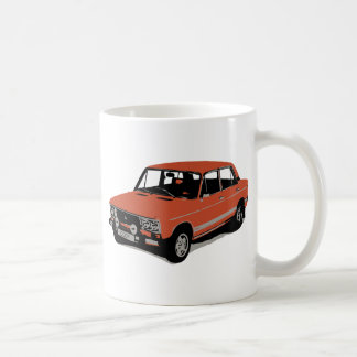 Lada - The Soviet Russian Car Coffee Mug