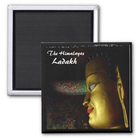 Ladakh, Buddha, The Himalayas (Magnet)
