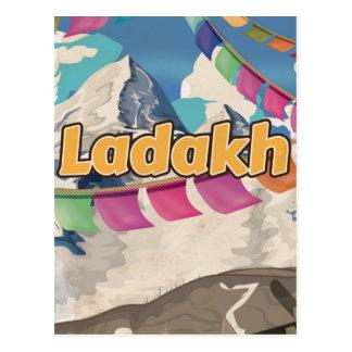 Ladakh, India Vintage travel poster Postcard