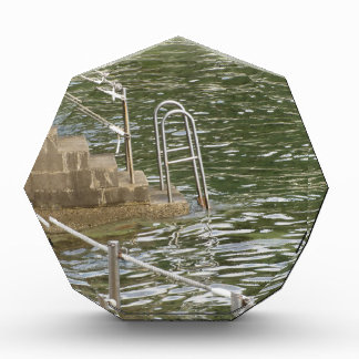 Ladder descending into the sea water award