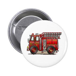 Ladder Fire Truck Button Pin