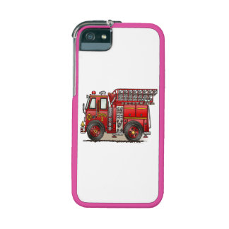 Ladder Fire Truck iPhone 5 Cases