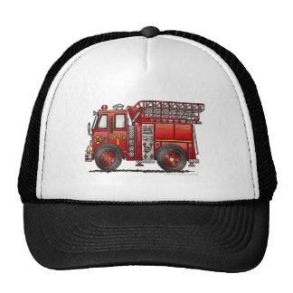 Ladder Fire Truck Firefighter Hat