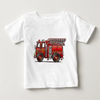 Ladder Fire Truck Firefighter Infant T-shirt