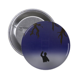 Ladder Into The Clouds Pinback Button