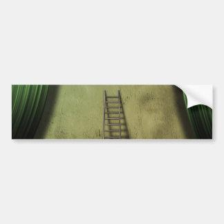 Ladder to success bumper sticker