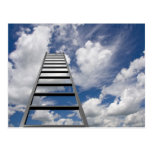 Ladder to Success Post Cards