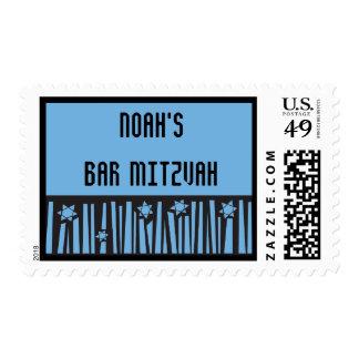 LADDER TO THE STARS Bar Bat Mitzvah Postage Stamp
