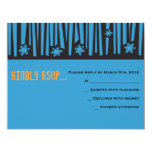 LADDER to the STARS Bar Bat Mitzvah Reply Card2 Custom Invite