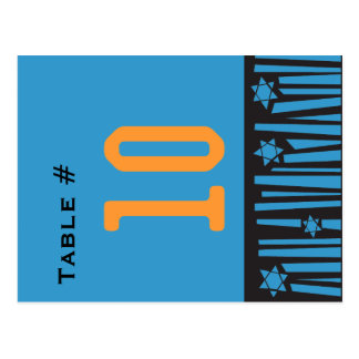 LADDER to the STARS Table Number Seating Card