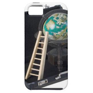 LadderGlobeBriefcase090615.png iPhone SE/5/5s Case