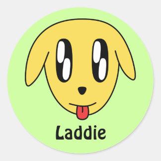 Laddie Sticker