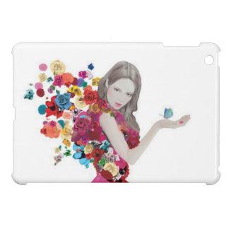 laddies flowers iPad mini covers