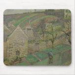 Ladera de la ermita, Pontoise, 1873 Mouse Pad