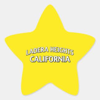 Ladera Heights California Star Sticker