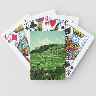 Laderas suizas baraja de cartas