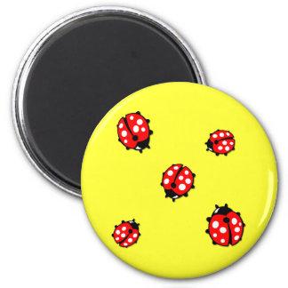 Ladiebug Formation 2 Inch Round Magnet