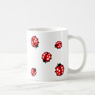 Ladiebug Formation Classic White Coffee Mug