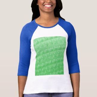 Ladies 3/4 Sleeve Raglan Fitted T-Shirt