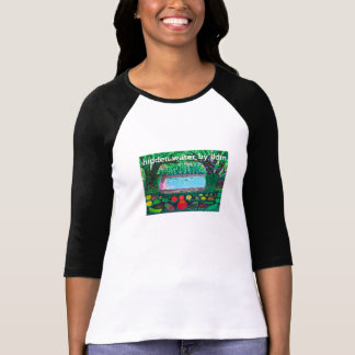 Ladies 3 4 Sleeve Raglan fitted T Shirts