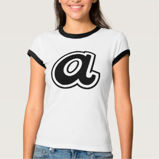 Ladies A-Town Ringer Tee