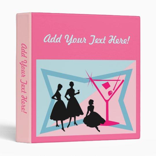 Ladies and Pink Martini Binder