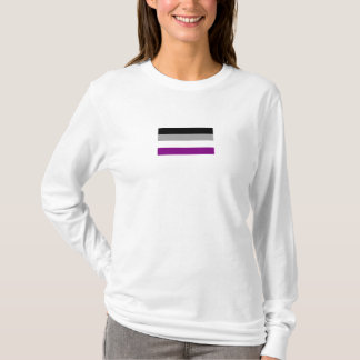 Ladie's Asexual Flag t-shirt