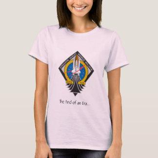 "Ladies Atlantis STS-135 ""End of an Era"" Baby Doll  T-Shirt"