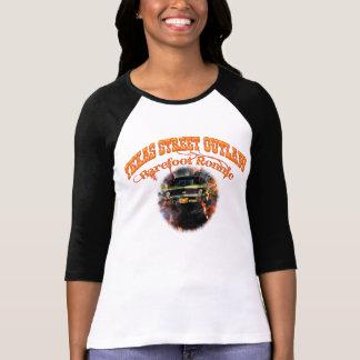 """Ladies """"Barefoot Ronnie"""" 71 Green Yenko Nova T Shirt"""