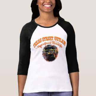 """Ladies """"Barefoot Ronnie"""" 71 Green Yenko Nova T-Shirt"""